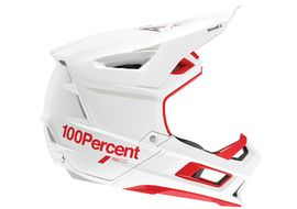 100% Aircraft 2 Helmet Red and White 2021