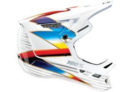 100% Aircraft Composite Helmet Knox White 2021