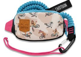 Shotgun MTB Tow Rope with Kids Hip Pack Combo 2021