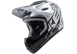 Kenny Down Hill Helmet Silver 2022