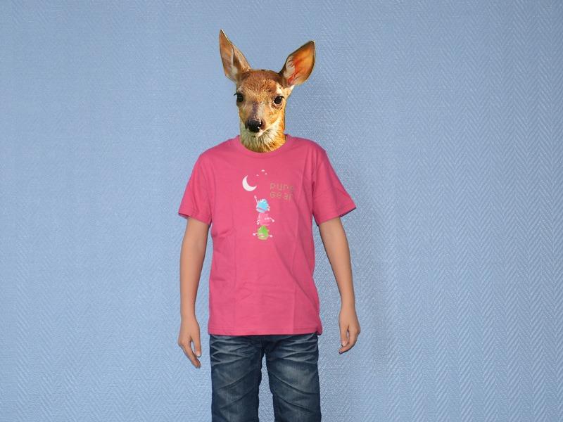 Pure Gear Child Tee-shirt Décroche la Lune Pink