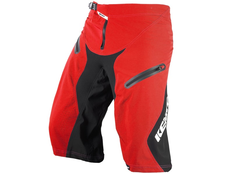 Kenny Defiant Short Red (with inner liner) 2017