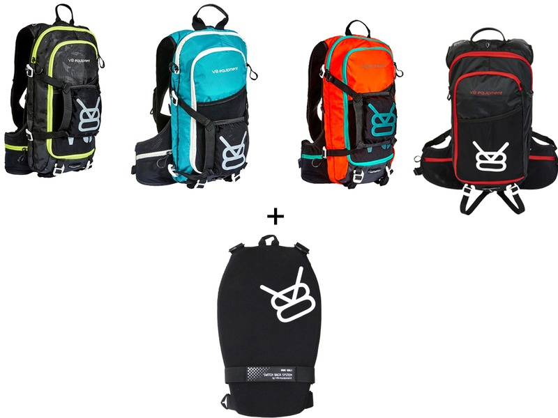 V8 Equipment FRD 11.1 Hydration Pack and SBS 136.1 Back Protector