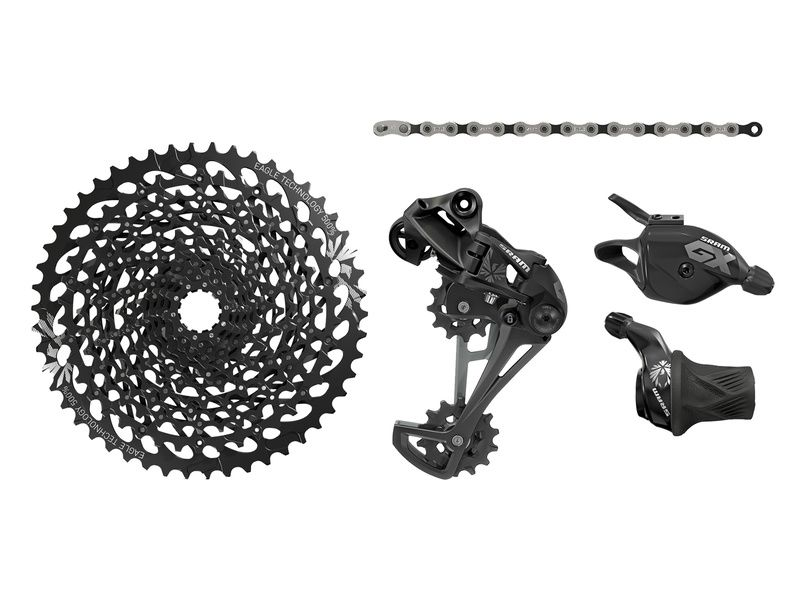 Sram GX Eagle 1X12 speed groupset without crankset Black 2018