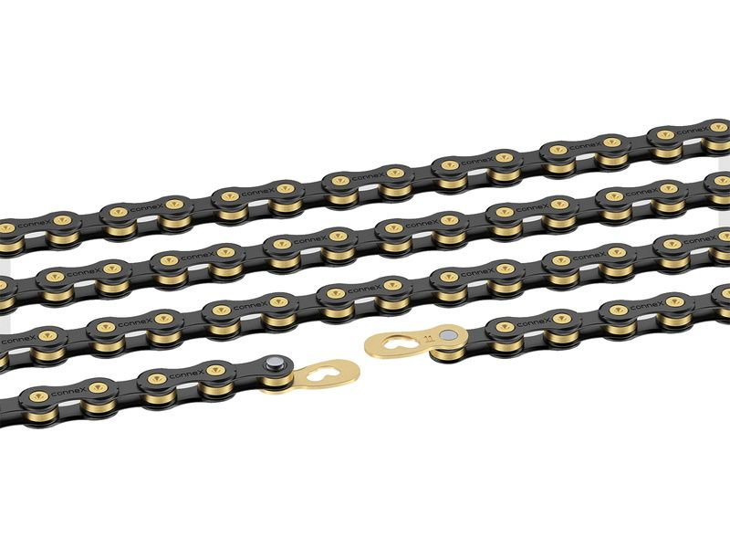 Connex by Wippermann 11SB 11 speed chain Black / Gold