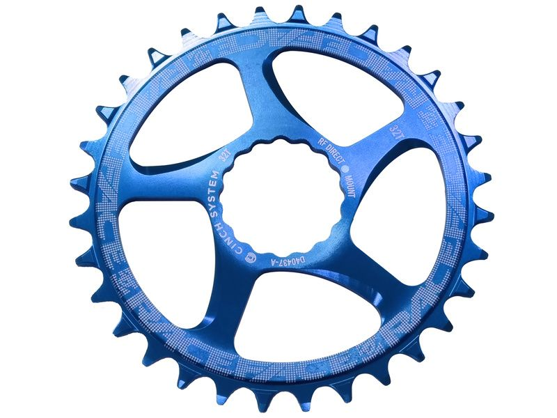 BLUE RaceFace Narrow-Wide 30T Direct Mount Single Chainring 9//10//11-Speed MTB
