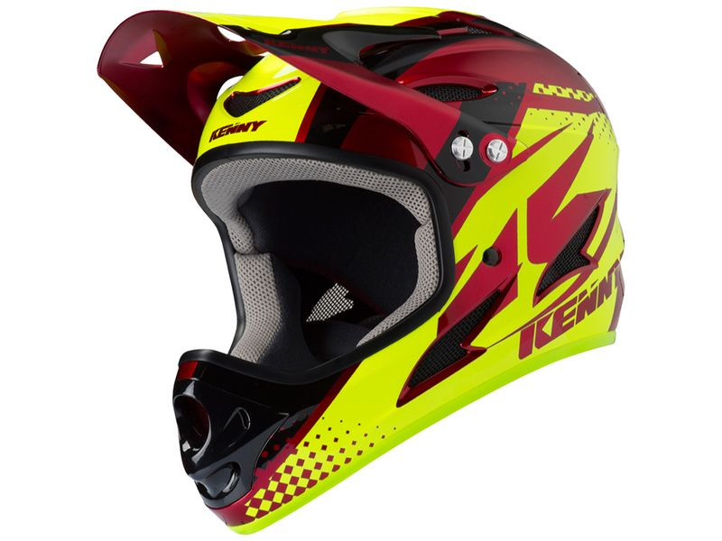 Kenny Down Hill Helmet Candy Red 2019