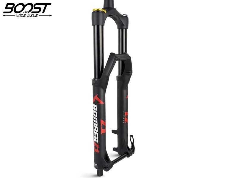 """Marzocchi Bomber Z1 Coil 29"""" Grip Sweep Adjust - 15x110 Boost - Black 2021"""