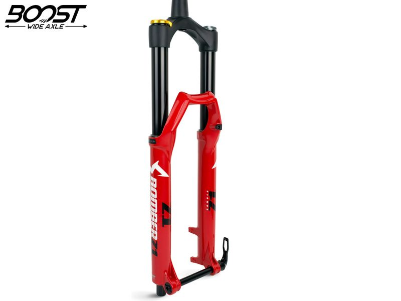 "Marzocchi Bomber Z1 27,5"" Grip Sweep Adjust 180 mm - 15x110 Boost - Red 2019"