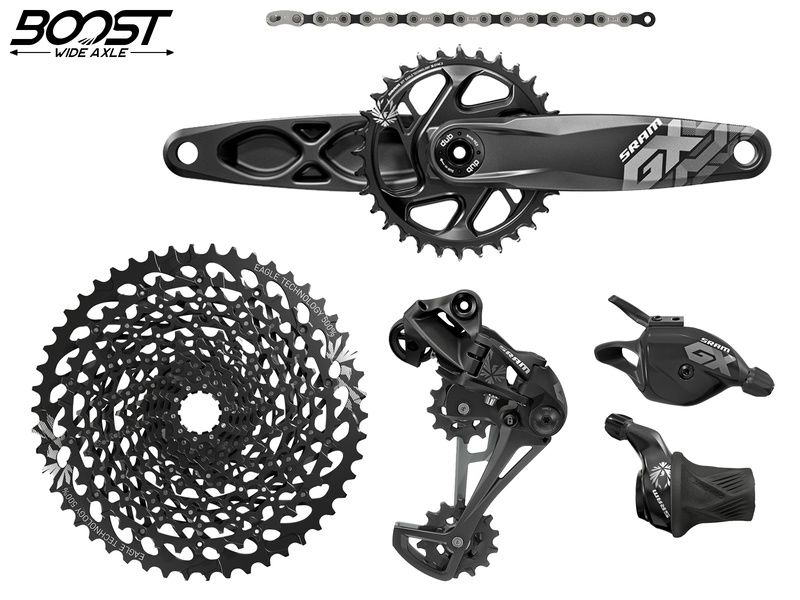 Sram GX Eagle 1x12 speed groupset with crankset DUB Boost 32T 2018