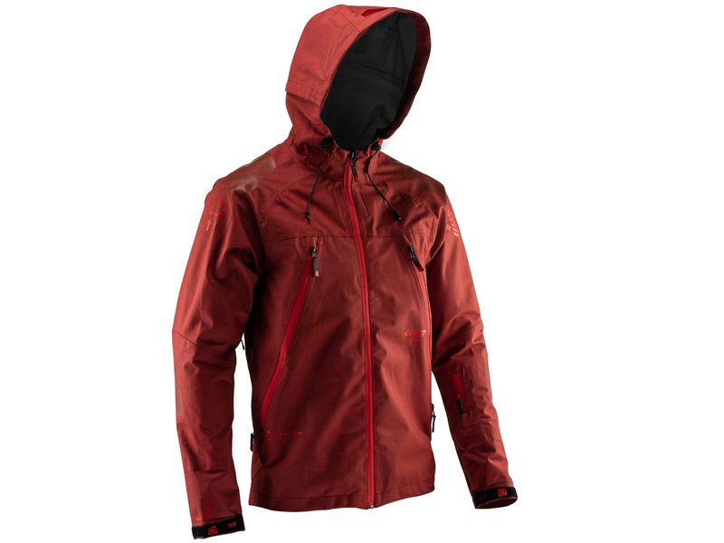 Leatt DBX 5.0 All Mountain Jacket Ruby 2019