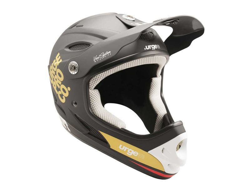 Urge Drift Helmet Black and Gold 2019
