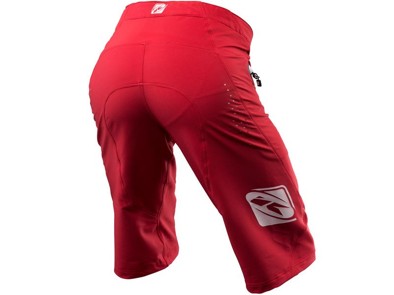 Kenny Defiant Short Red (with inner liner) 2019