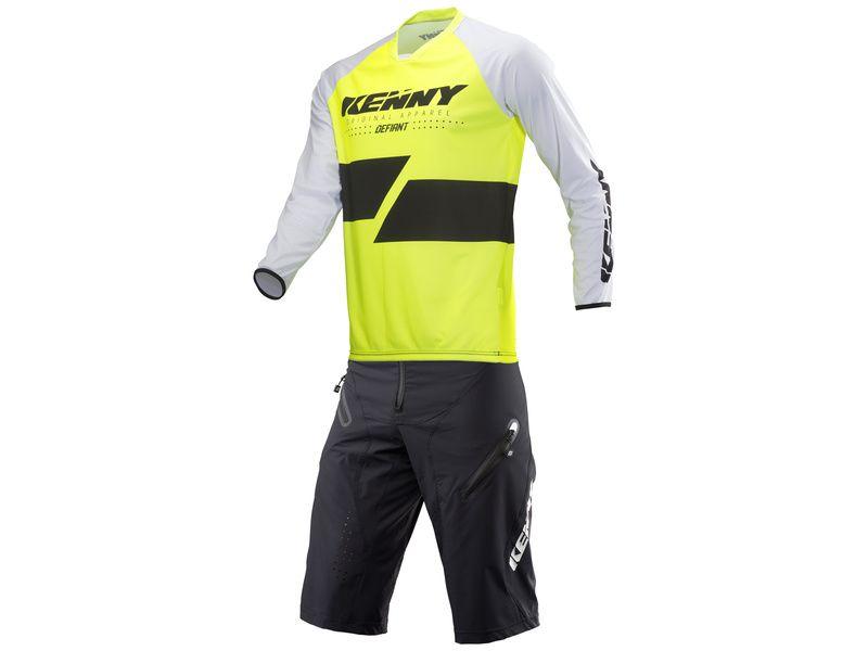Kenny Defiant Gear Set Black / Neon Yellow 2019