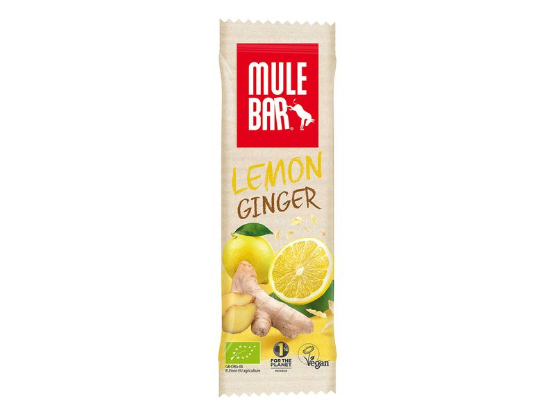 Mulebar Energy Bar Lemon, Ginger