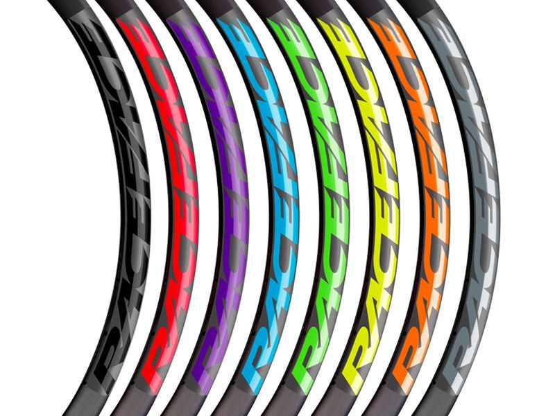 Race Face NextR Crank Decals Set Stickers Mountain Bike Adhesive Red