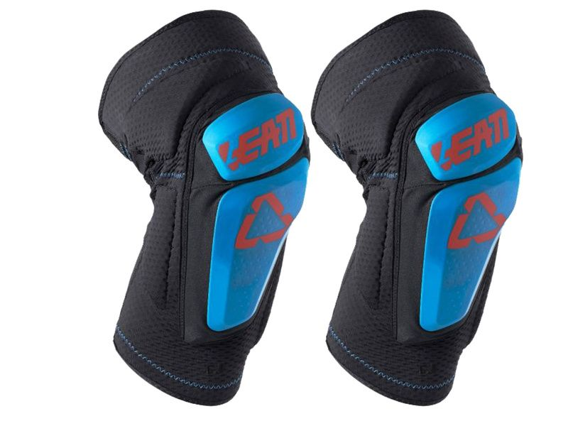 Leatt 3DF 6.0 Knee Guard Black / Fluel 2019