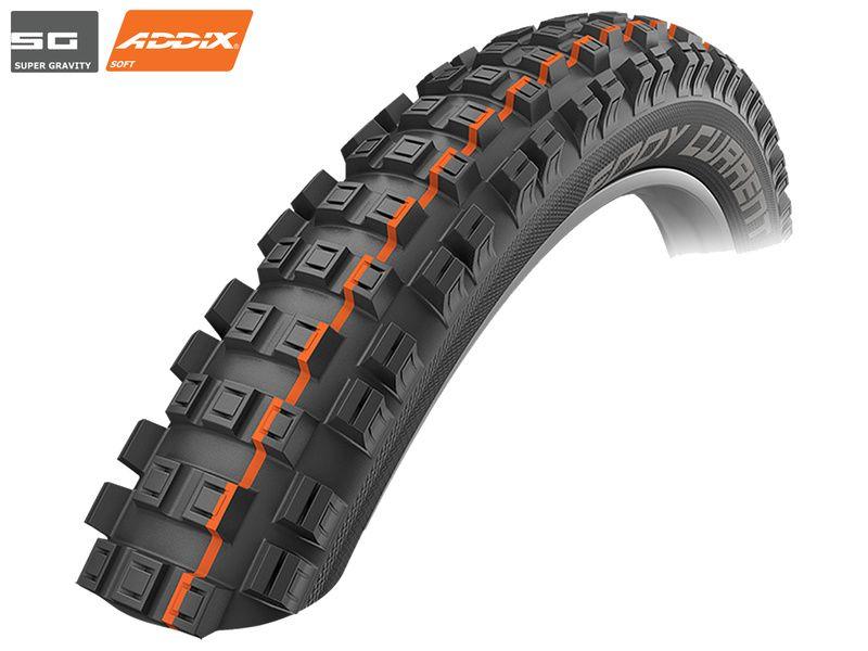 """Schwalbe Eddy Current Rear Tubeless Easy SG E25 Tire 29"""" 2.60 - Addix Soft 2019"""