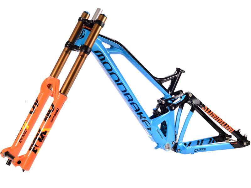 "Mondraker Summum Alloy 27.5""- Size M + Fox 40 Float 27.5"" Orange"