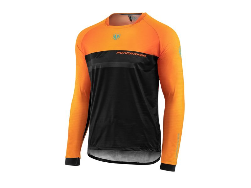 Mondraker Trail Sherpa Long Sleeve Jersey Orange 2020