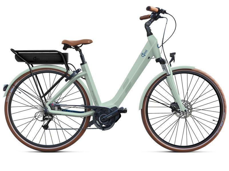 O2feel Swan D8- Bike Green - E5000 400Wh 2020