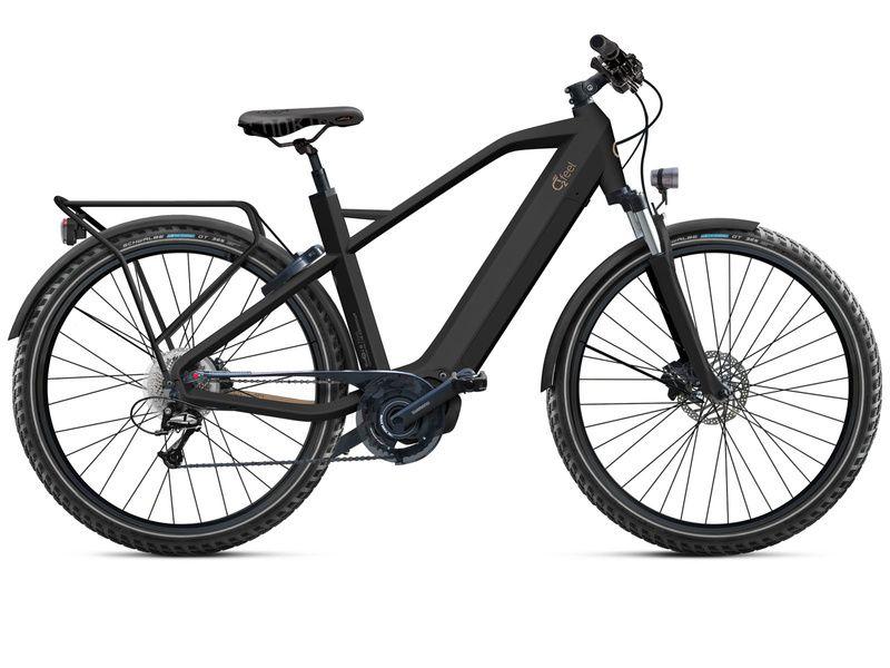 O2feel Iswan Explorer Man- Bike Black - E6100 432Wh 2020