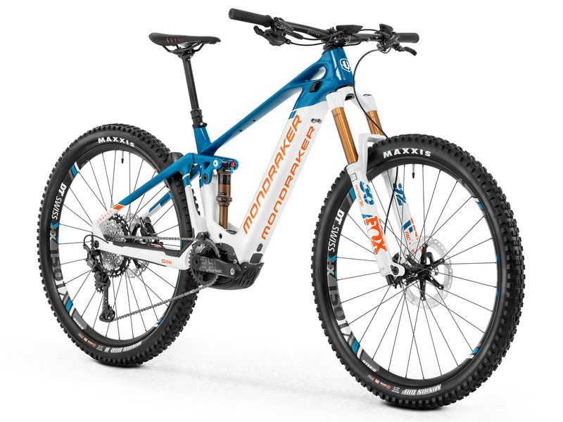 Mondraker Crafty Carbon RR 29 Blue/White/Orange- Size M 2020