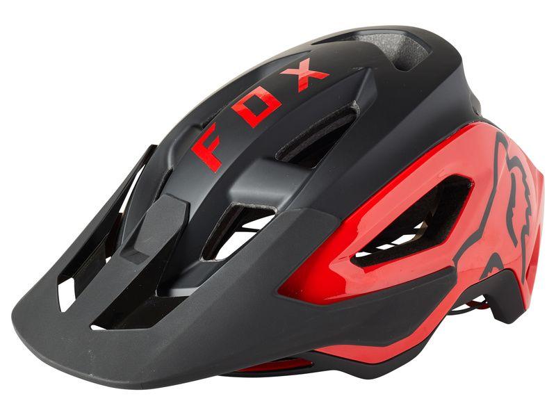 Fox Speedframe Pro Helmet Black and Red 2021