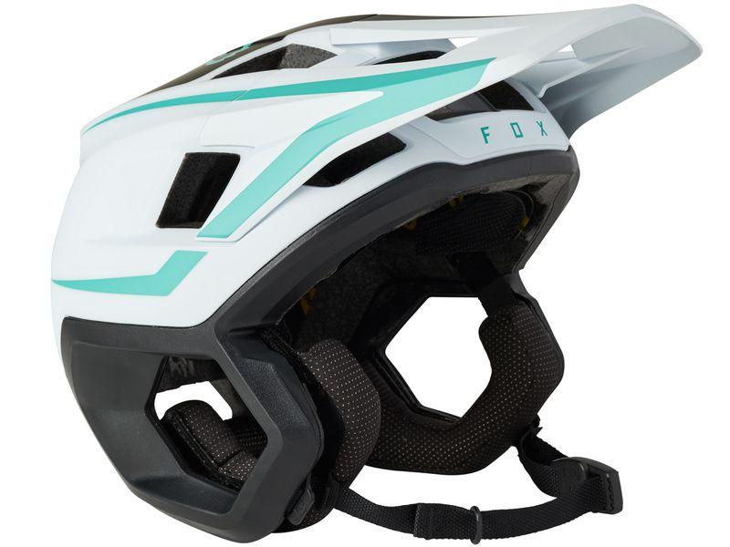 Fox Dropframe Pro Helmet Teal 2021