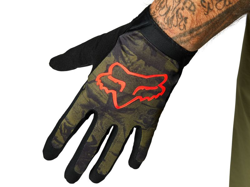 Fox Flexair Gloves Ascent Olive 2021